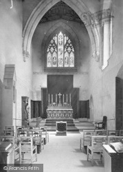 Lincoln, Chapel In Bishops' Palace 1890