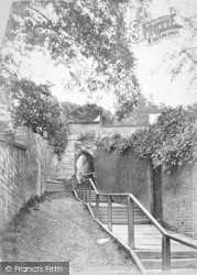 Lincoln, Greestone Stairs c.1879