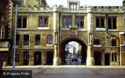 Lincoln, Guildhall Over Stonebow 1979