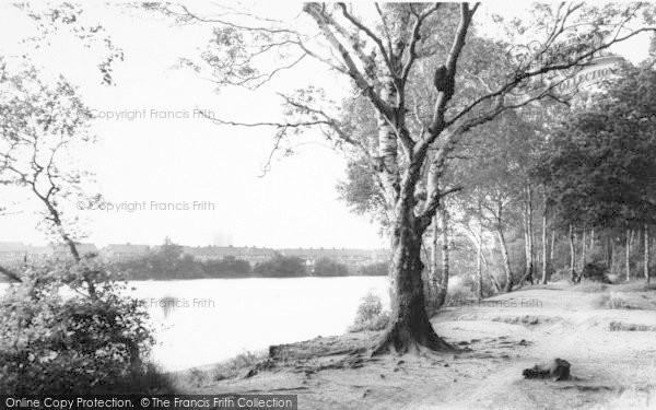 Photo of Lincoln, Hartsholme Lake c.1965