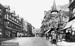 Lincoln, High Street 1923