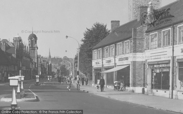 Photo of Lincoln, High Street c.1950
