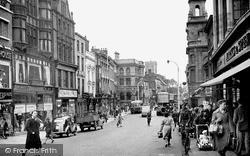 Lincoln, High Street c.1950