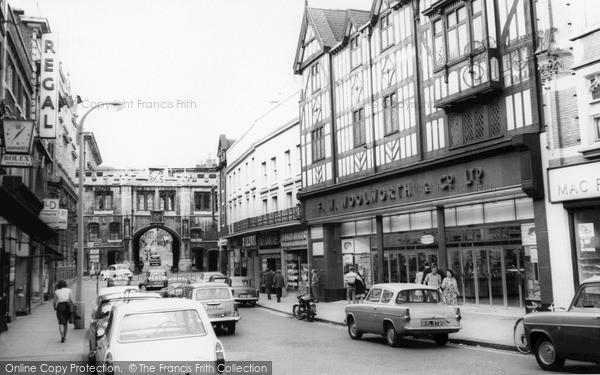 Lincoln, High Street c1965