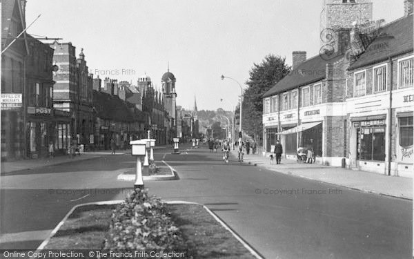 Photo of Lincoln, High Street, St Peter's c.1950
