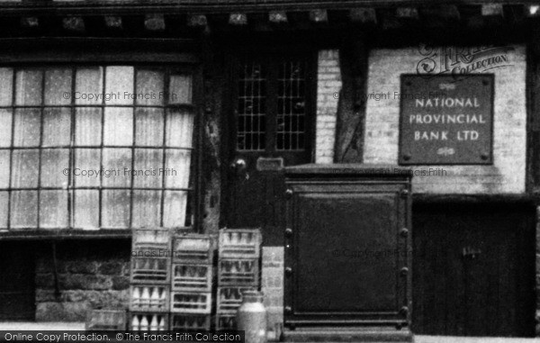 Photo of Lincoln, Milk Crates And Churn, Bailgate c.1955