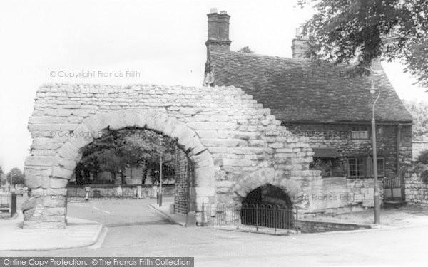 Photo of Lincoln, Newport Arch c.1965