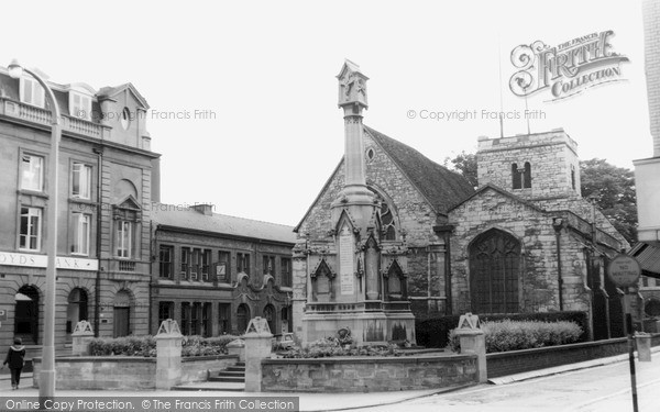 Photo of Lincoln, Parish Church c.1965