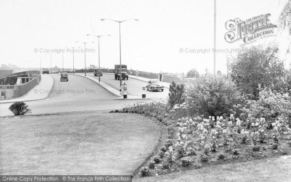 Photo of Lincoln, Pelham Bridge c.1960