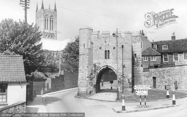 Photo of Lincoln, Pottergate c.1955