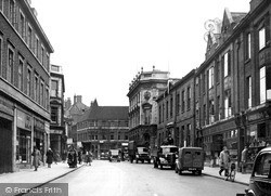 Lincoln, Silver Street c.1950