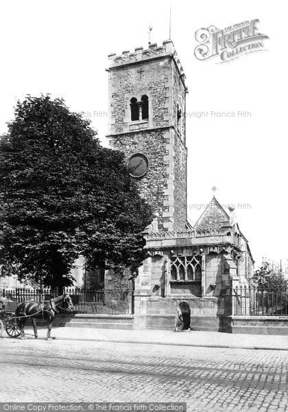 Photo of Lincoln, St Mary's Church And Conduit 1890