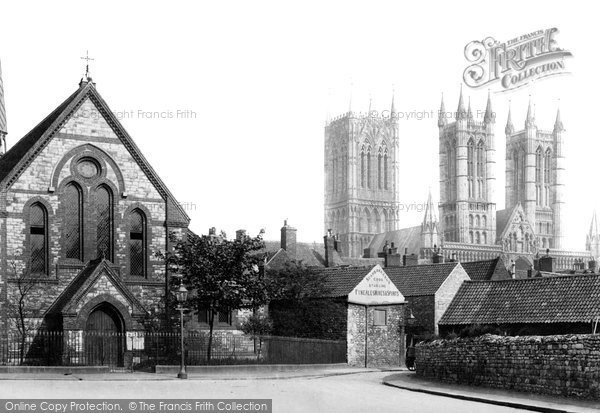 Photo of Lincoln, St Paul's Church And Cathedral 1890