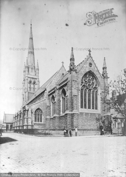 Photo of Lincoln, St Swithin's Church 1890