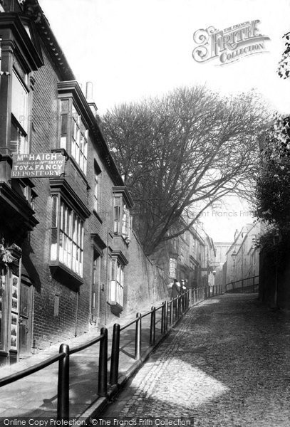 Photo of Lincoln, Steep Hill 1906