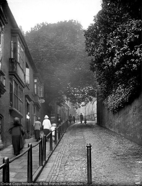 Photo of Lincoln, Steep Hill 1923