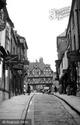 Steep Hill c.1955, Lincoln