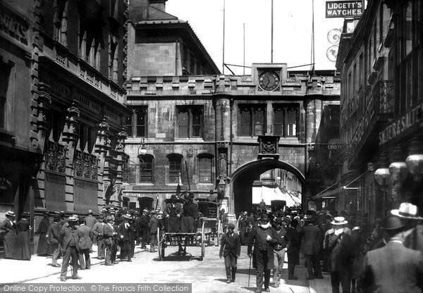 Photo of Lincoln, Stonebow 1901