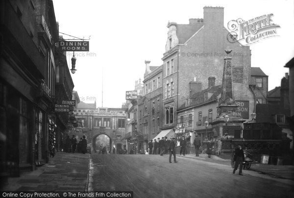 Photo of Lincoln, Stonebow 1906