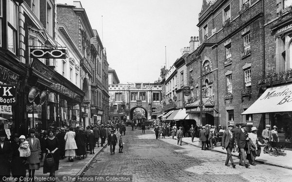 Photo of Lincoln, Stonebow 1923