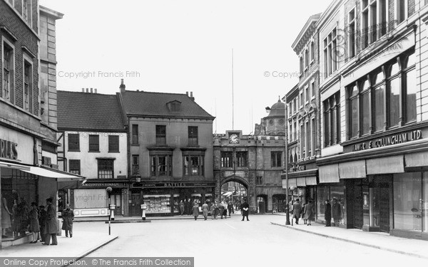Photo of Lincoln, Stonebow c.1950