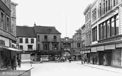 Stonebow c.1950, Lincoln