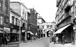 Lincoln, Stonebow c.1950