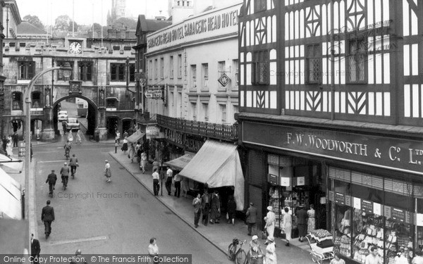 Photo of Lincoln, Stonebow c.1955