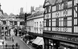 Lincoln, Stonebow c.1955