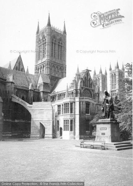 Photo of Lincoln, Tennyson Memorial c.1965