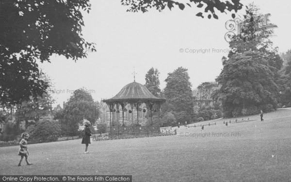 Photo of Lincoln, The Arboretum Bandstand c.1950