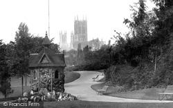 Lincoln, The Arboretum c.1879