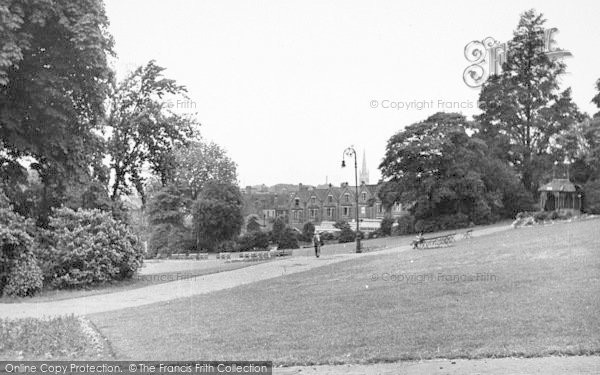 Photo of Lincoln, The Arboretum c.1950