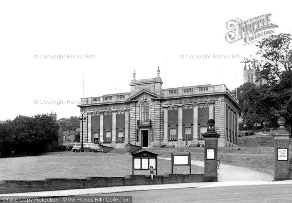 Photo of Lincoln, The Art Gallery c.1950