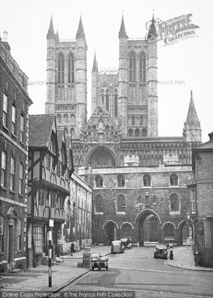 Photo of Lincoln, The Exchequer Gate c.1950
