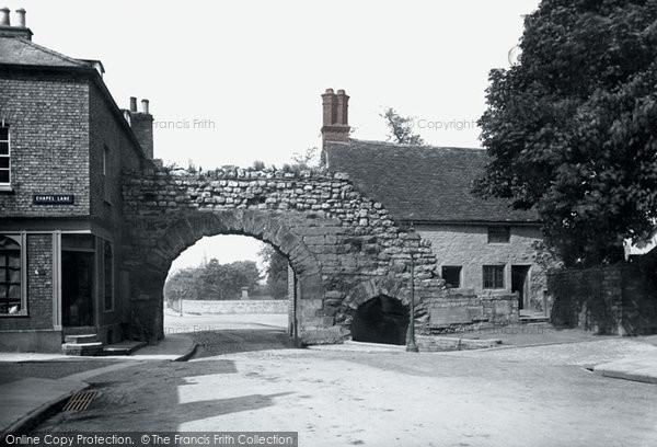 Photo of Lincoln, The Newport Arch 1890