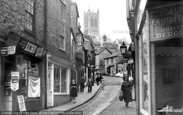 Photo of Lincoln, The Strait c.1960