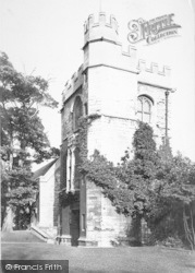 Lincoln, Tower Of Old Palace 1890