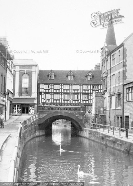 Photo of Lincoln, Waterside South c.1960