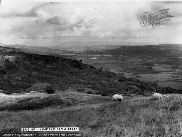 Photo of Lindale, from the Fells c1960, ref. L448008