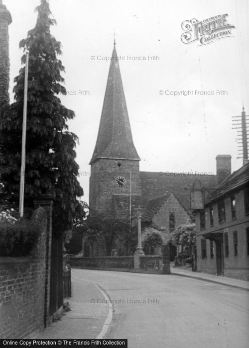 Photo of Lindfield, All Saints' Church c.1955