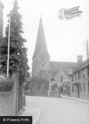 Lindfield, All Saints' Church c.1955