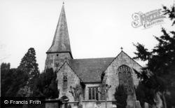 Lindfield, All Saints' Church c.1960