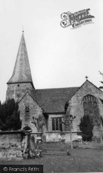 All Saints' Church c.1960, Lindfield