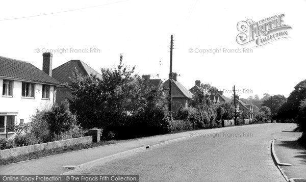 Photo of Lindfield, Backwoods Lane c.1960