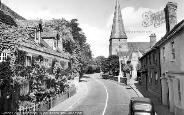 Photo of Lindfield, Bower House And All Saints Church 1957