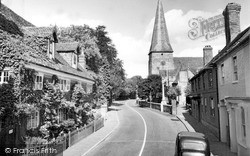 Bower House And All Saints Church 1957, Lindfield