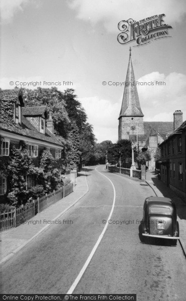 Photo of Lindfield, Bower House And All Saints' Church c.1960