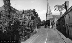 Lindfield, Bower House And All Saints' Church c.1960