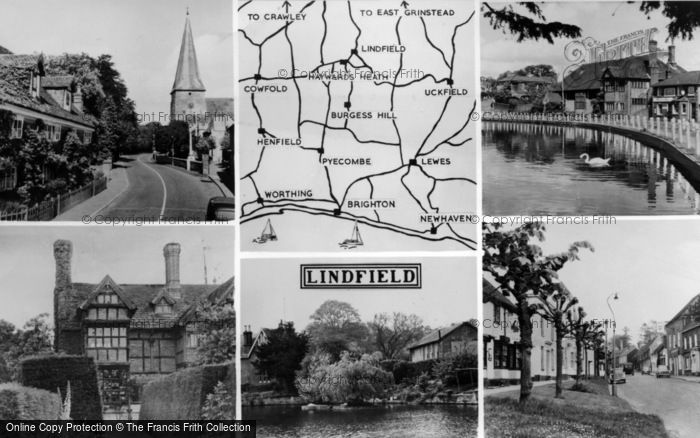Photo of Lindfield, Composite c.1960